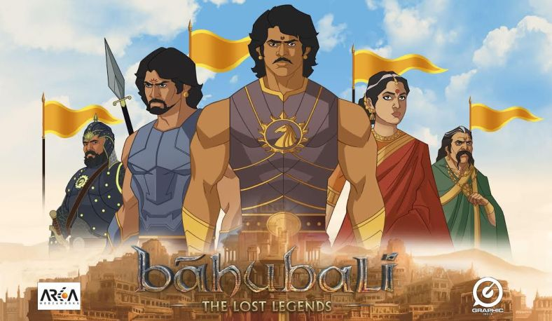 bahubali animated video