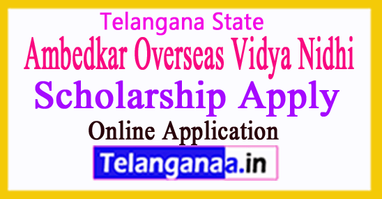 telangana overseas scholarship to minorities