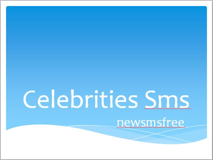 Celebrities Sms