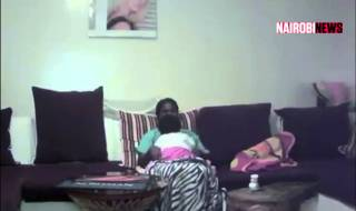 SHOCKER! Househelp Caught On Camera Trying To Breastfeed Boss' Baby (Video)