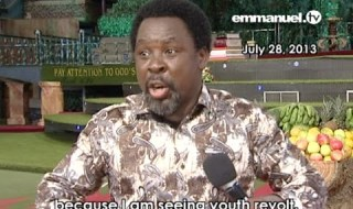 TB Joshua: I Predicted South Africa's Xenophobic Attacks [See Video]