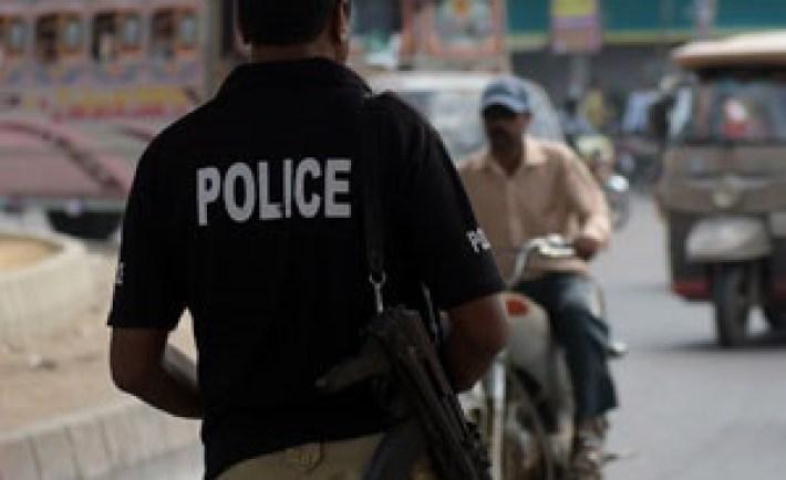 Pakistan police. (Rizwan Tabassum, AFP)