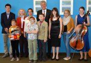 Jugend musiziert, Gruppenbild. Foto: Ennepe-Ruhr-Kreis
