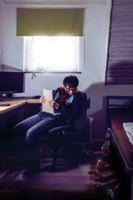 """""""Die Unterwelten meines Zimmers!"""" nennt Michael Bleeser seine Aufnahme - dafür gab's Platz eins in der Jugend-Wertung. Foto: LWL / Bleeser"""