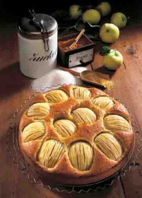 Leckerer Apfelkuchen. Foto: Wirths PR