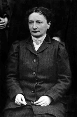Elvira Fölzer in Trier (1909). Foto: Rheinisches Landesmuseum Trier/Foto A 335