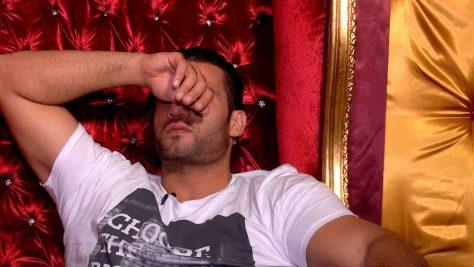 Manuel erzählt, dass er dachte, Jenny sei Boris Beckers Besenkammer-Affaire. Foto: © SAT.1