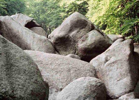 Das Felsenmeer im Lautertal bei Reichenbach im Odenwald Foto: hr/Gerhard Genzler