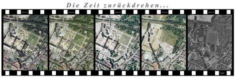 Zeitreise: LaGa-Gelände in Gronau. Foto: Kreis Borken