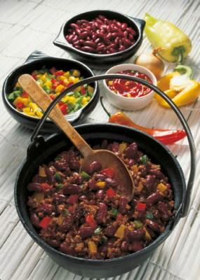 Chili con Carne (cholesterinarm) Foto: Wirths PR