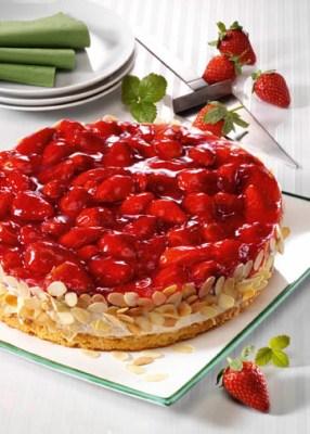 Erdbeer-Quark-Torte Foto: Wirths PR