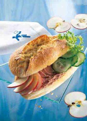 Pikantes Sandwich Foto: Wirths PR