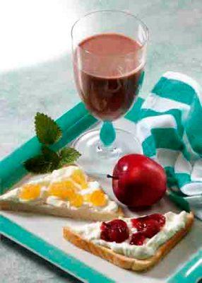 Power-Frühstück.  Foto: Wirths PR