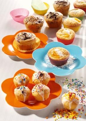 Bunte Muffins - Tolle Rezepte Foto: Wirths PR