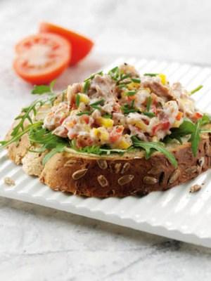Diät-Rezept: Feuriges Thunfisch-Sandwich Foto:  Wirths PR /John West