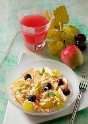 Diät-Rezept: Früchtereis mit Molkedrink Foto: Wirths PR