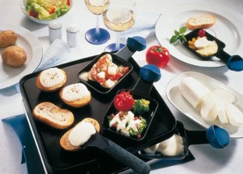 Raclette mit Mozzarella - Tolle Rezepte Foto: Wirths PR