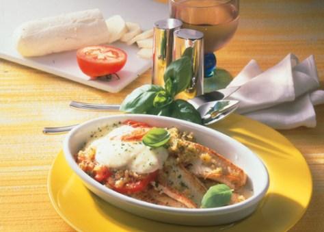 Seezunge mit Tomaten (Rezept für Diabetiker) Foto: Wirths PR