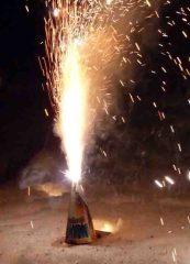 Raketen und Böller gehören in den Restmüllsack Foto: Landkreis Leer