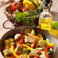 Thunfischpfanne mediterranee (für Diabetiker)