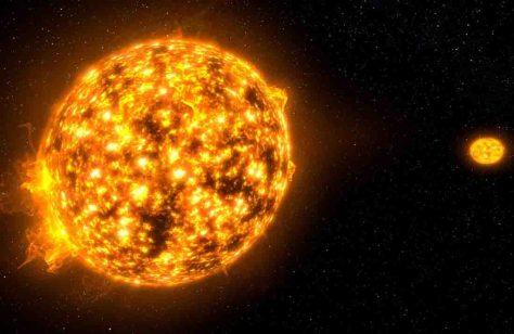 Für die Zuschauer geht es vorbei vorbei an Sonnen, Planeten und Wolkenarmen bis ins Zentrum der Galaxis. Foto: Billionsuns-Media
