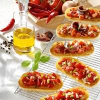 Schnelle Rezepte: Bruschetta picante