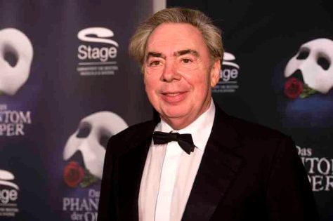 Andrew Lloyd Webber bei der Ankunft auf dem roten Teppich zur Premiere von dem Musical 'DAS PHANTOM DER OPER' im Theater Neue Flora in Hamburg am 28.11.2013. Foto: Stage Entertainment/Morris Mac Matzen