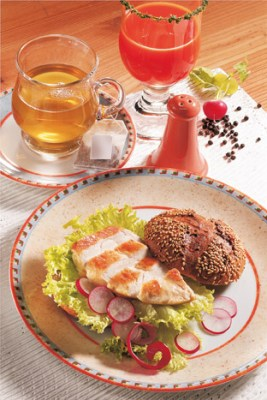 Diät-Rezept: Fitness-Teller Foto: Wirths PR