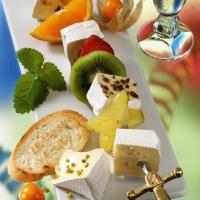 Käse-Rezepte: Fruchtige Käse-Spieße