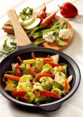 Gemüsepfanne Gartenfrische (für Diabetiker) Foto: Wirths PR