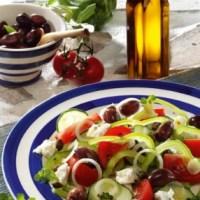 Griechische Rezepte: Griechischer Salat mit Kapern