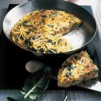 Schnelle Rezepte: Spaghetti-Omelette