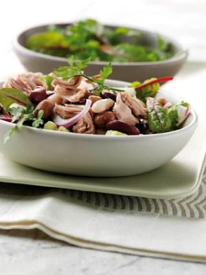 Diät-Rezept: Thunfisch-Bohnen-Salat Foto: Wirths PR/ J. West