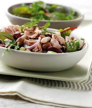 Diät-Rezept: Thunfisch-Bohnen-Salat