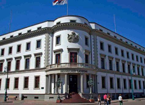 Landtag Wiesbaden Foto: hr