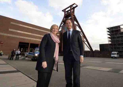 Niederländischer Ministerpräsident Mark Rutte zu Besuch in Nordrhein-Westfalen © Foto: Roberto Pfeil / Staatskanzlei Nordrhein-Westfalen