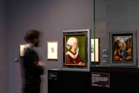 """Ausstellungsansicht """"Dürer. Kunst - Künstler - Künstler"""" Städel Museum, Frankfurt am Main Foto: Norbert Miguletz"""
