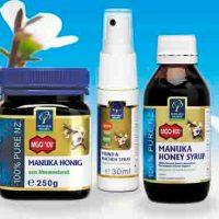 Manuka-Honig – bei Husten und Heiserkeit