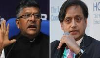 Ravi-Shankar-Prasad-Shashi-Tharoor