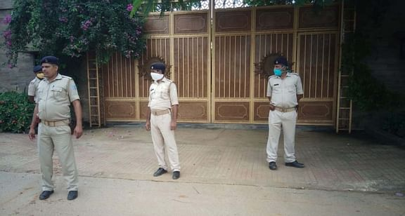 Dhoni security