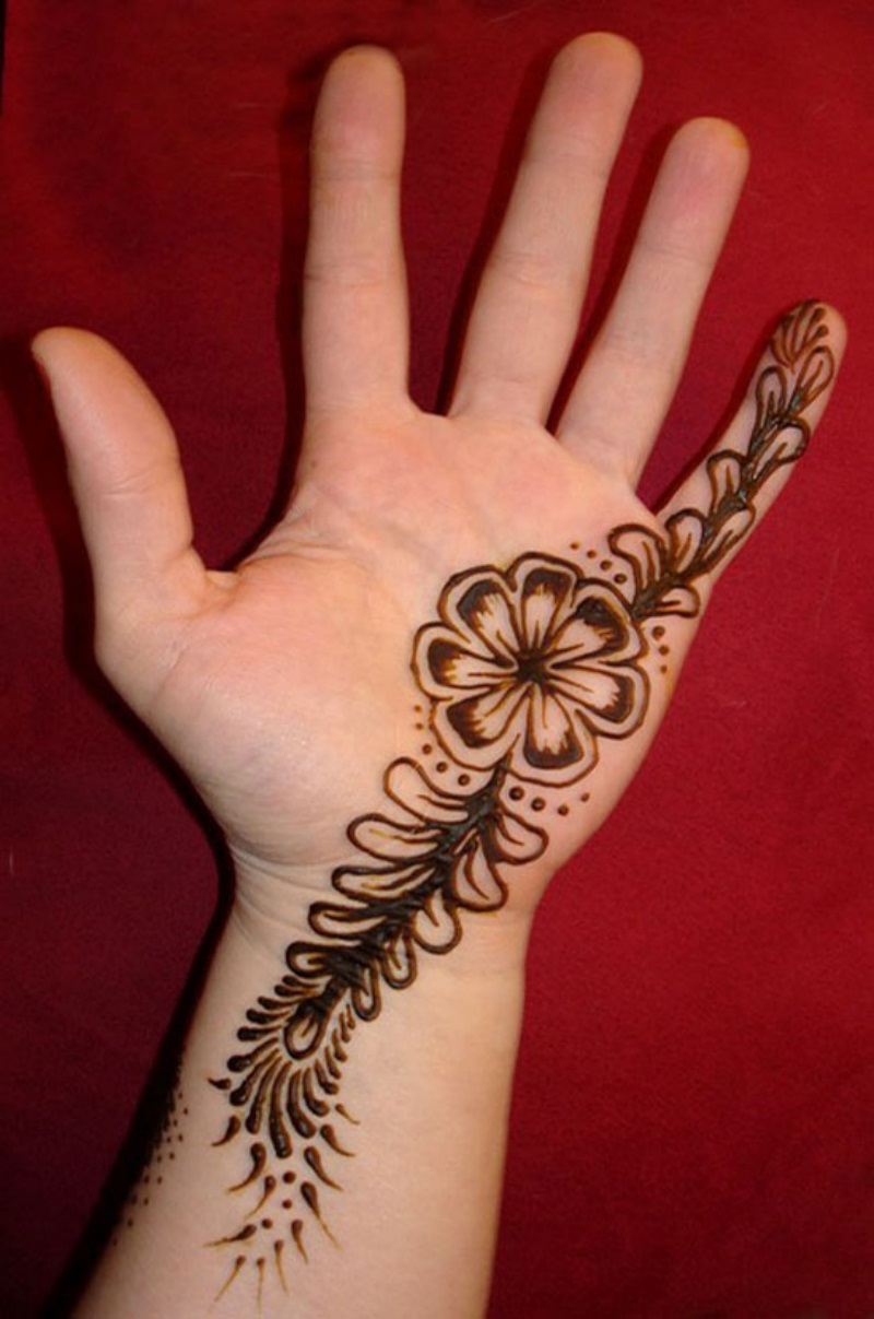 Quick Mehndi Patterns : Simple mehndi designs photos picture hd wallpapers walls