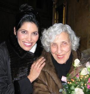 Vivica Genaux with Claudia Pinza