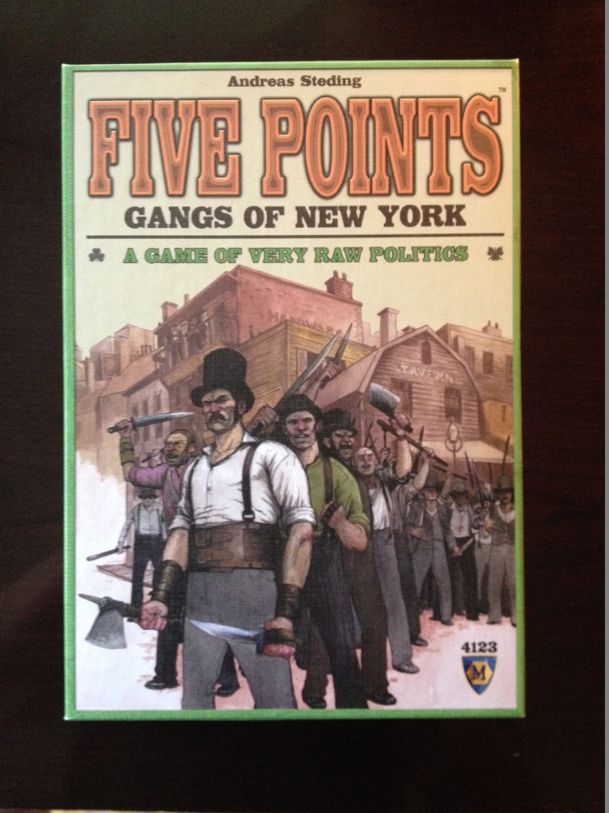board game new york city fighting gangs