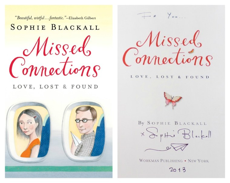 Missed Connections Book Sophie Blackall