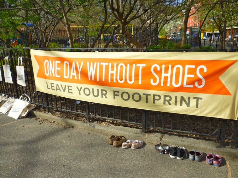 One Day Without Shoes NYC