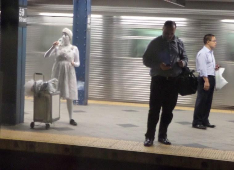 bizarre subway