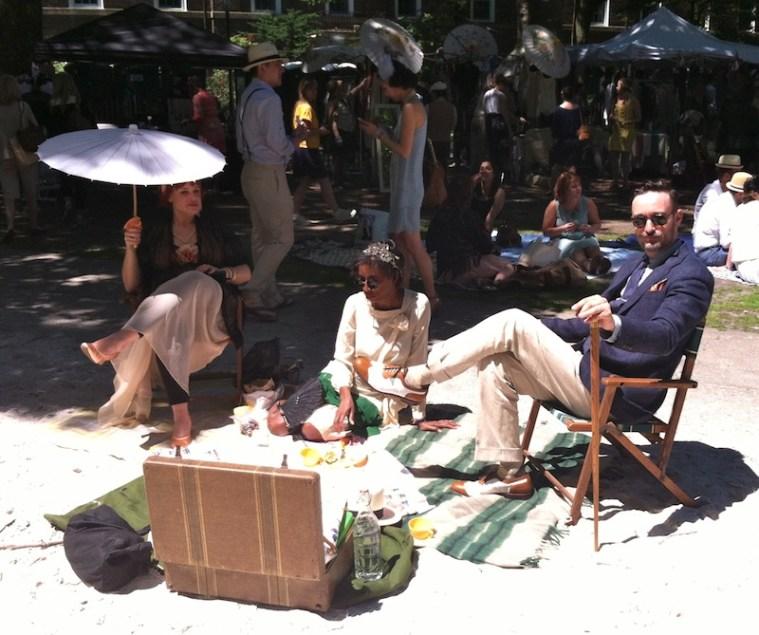 jazz age lawn party picnic