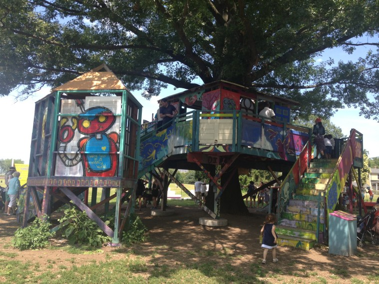 figment governors island tree house