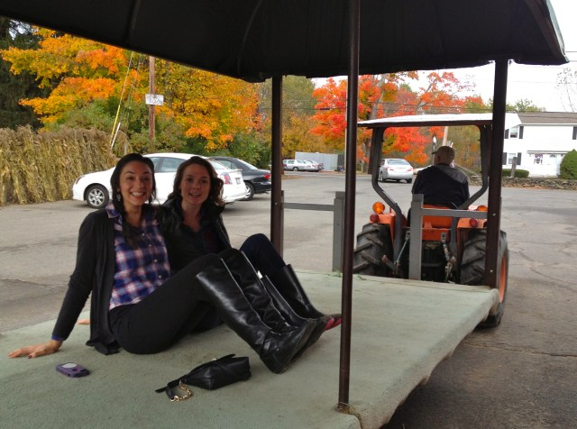 ride to apple orchard