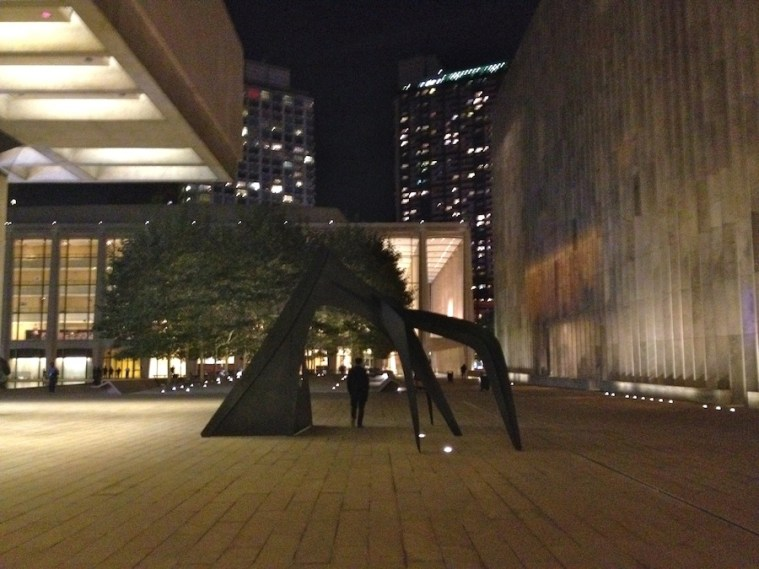 lincoln center performing arts library exit